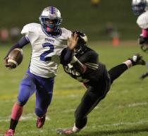 There's no question that Academy Park's Jerry Lanier is the best returning RB for 2013.