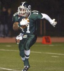 Shahaid Smith was an All-Delco running back at Ridley in 2010.