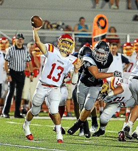 Haverford High junior Jack Donaghy earned First Team honors after throwing for 19 TDs and leading the Fords to an 8-4 record.