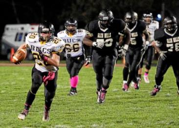 Chris Thomas filled a void at running back for Interboro last fall and showed he has what it takes to be a big piece in the Bucs running game this year.